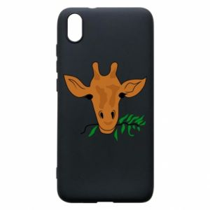Phone case for Xiaomi Redmi 7A Giraffe with a branch
