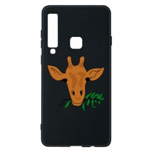 Phone case for Samsung A9 2018 Giraffe with a branch