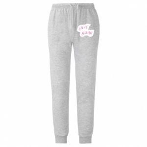 Spodnie lekkie męskie Girl gang