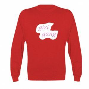 Bluza dziecięca Girl gang