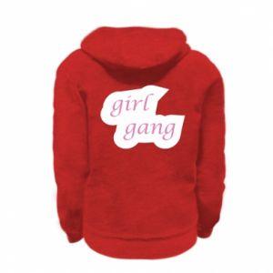 Bluza na zamek dziecięca Girl gang