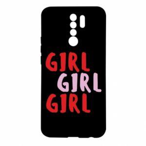 Etui na Xiaomi Redmi 9 Girl girl girl