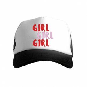 Kid's Trucker Hat Girl girl girl