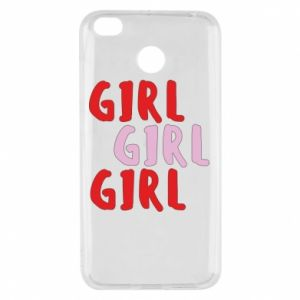 Etui na Xiaomi Redmi 4X Girl girl girl