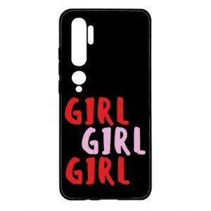 Etui na Xiaomi Mi Note 10 Girl girl girl