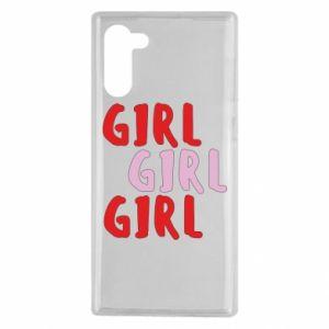 Etui na Samsung Note 10 Girl girl girl