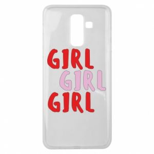 Etui na Samsung J8 2018 Girl girl girl