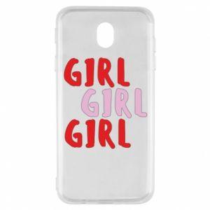 Etui na Samsung J7 2017 Girl girl girl