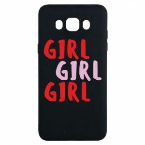 Etui na Samsung J7 2016 Girl girl girl