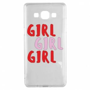 Etui na Samsung A5 2015 Girl girl girl