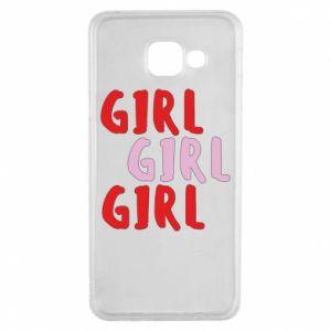 Etui na Samsung A3 2016 Girl girl girl