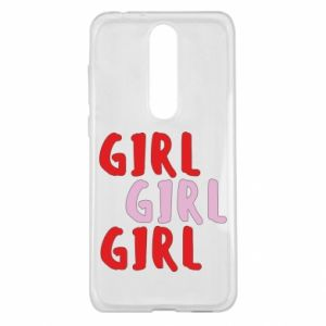 Etui na Nokia 5.1 Plus Girl girl girl