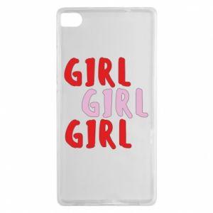 Etui na Huawei P8 Girl girl girl