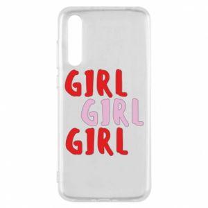 Etui na Huawei P20 Pro Girl girl girl