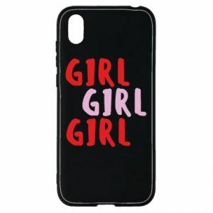 Etui na Huawei Y5 2019 Girl girl girl