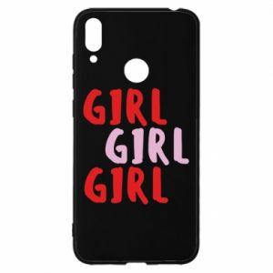 Etui na Huawei Y7 2019 Girl girl girl