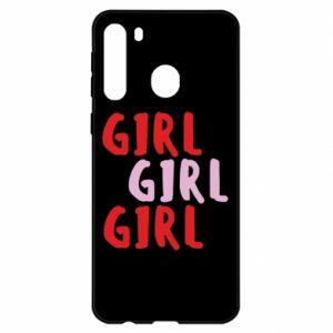 Etui na Samsung A21 Girl girl girl