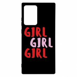 Etui na Samsung Note 20 Ultra Girl girl girl