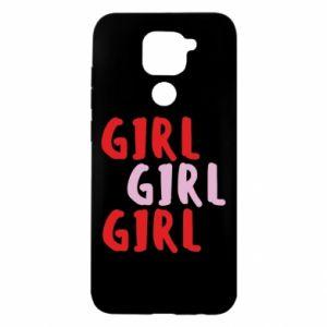 Etui na Xiaomi Redmi Note 9/Redmi 10X Girl girl girl