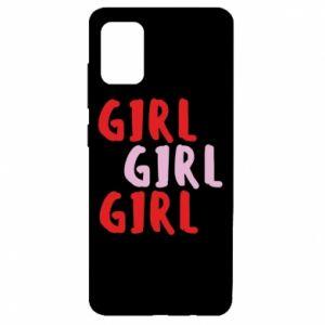 Etui na Samsung A51 Girl girl girl