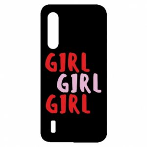Etui na Xiaomi Mi9 Lite Girl girl girl