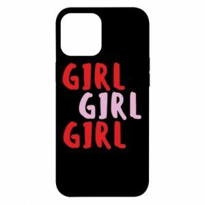 Etui na iPhone 12 Pro Max Girl girl girl