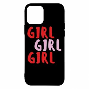 Etui na iPhone 12/12 Pro Girl girl girl