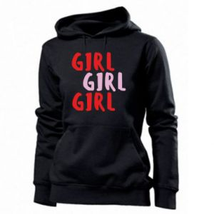 Women's hoodies Girl girl girl