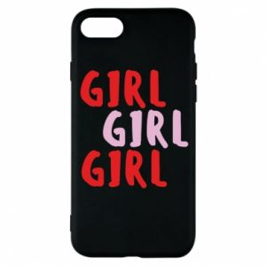 Phone case for iPhone 8 Girl girl girl