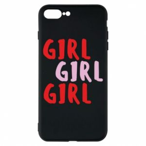 Phone case for iPhone 8 Plus Girl girl girl