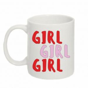 Kubek 330ml Girl girl girl