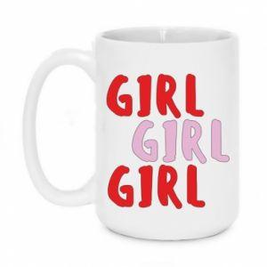 Kubek 450ml Girl girl girl