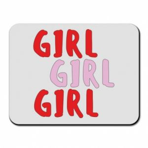 Mouse pad Girl girl girl