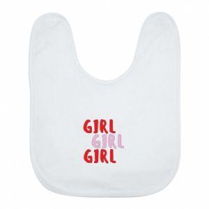 Śliniak Girl girl girl