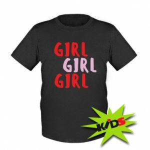 Kids T-shirt Girl girl girl