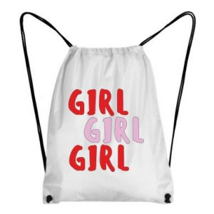Backpack-bag Girl girl girl