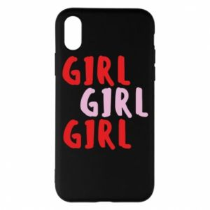 Phone case for iPhone X/Xs Girl girl girl
