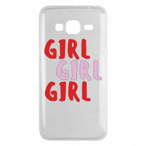 Phone case for Samsung J3 2016 Girl girl girl