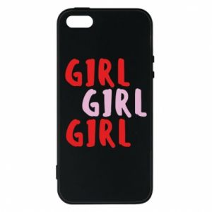 Phone case for iPhone 5/5S/SE Girl girl girl