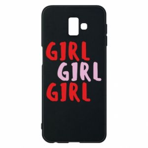 Phone case for Samsung J6 Plus 2018 Girl girl girl