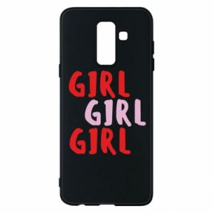 Phone case for Samsung A6+ 2018 Girl girl girl