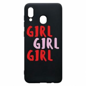 Phone case for Samsung A20 Girl girl girl