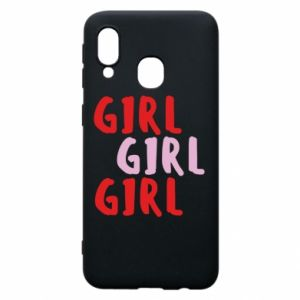 Phone case for Samsung A40 Girl girl girl