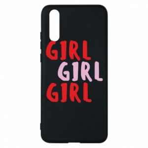 Phone case for Huawei P20 Girl girl girl