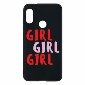 Phone case for Mi A2 Lite Girl girl girl