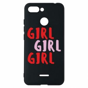 Phone case for Xiaomi Redmi 6 Girl girl girl