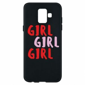 Phone case for Samsung A6 2018 Girl girl girl
