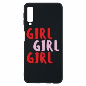 Phone case for Samsung A7 2018 Girl girl girl