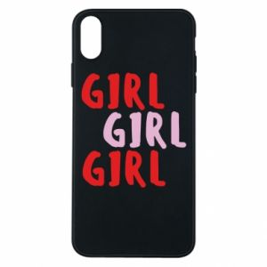 Phone case for iPhone Xs Max Girl girl girl