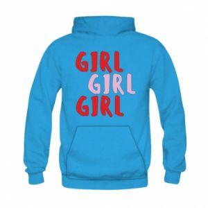 Bluza z kapturem dziecięca Girl girl girl